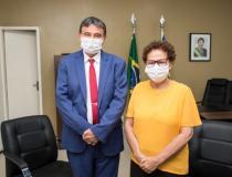 Wellington Dias se afasta para realização de cirurgia e Regina assume governo
