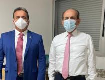 Em Brasília, Henrique Pires e Marcelo Castro tratam da reunião do MDB sobre 2022
