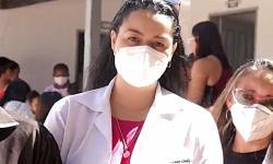 Inauguração do posto de Saúde do Bamburral - Sebastião Barros - Dra. Twammy