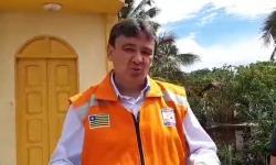 Wellington Dias visita Parnaíba e fala sobre projeto de drenagem