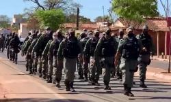 7º BPM realiza solenidade alusiva ao Dia do Soldado e aos 23 anos de instalação do batalhão no município de Corrente