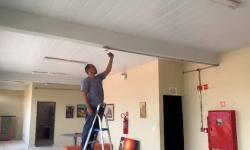 Casa da Cultura de Corrente recebe instalação de sistema de combate a incêndios
