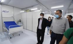 Hospital de Campanha do Verdão inicia atendimentos na segunda quinzena de maio