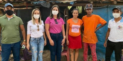 Secretaria de Assistência Social de Sebastião Barros atende famílias nas localidades Veredinha e Pintado