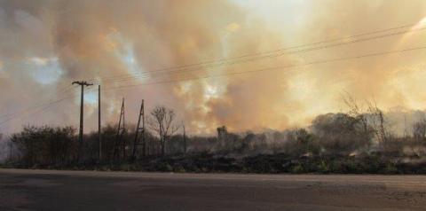 Cresce o número de queimadas que afetam a Rede Elétrica no Piauí