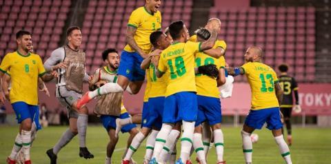 Brasil bate México nos pênaltis e vai à final contra Espanha nas Olimpíadas