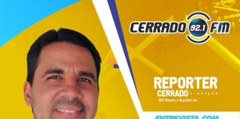 Dr. Moisés Filho, prefeito de Cristalândia, concederá entrevista ao meio dia de hoje na Rádio Cerrado