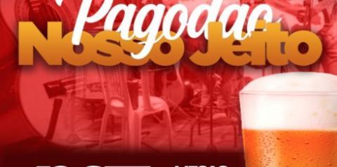 Domingo tem Pagodão Nosso Jeito no bar da AABB em Gilbues