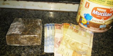 Homem é preso em flagrante por tráfico de drogas na localidade Pitombas, zona rural de Sebastião Barros