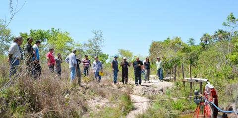 Ministério Público, ICMBio e Ibama vistoriam área de nascente em Cristalândia do Piauí