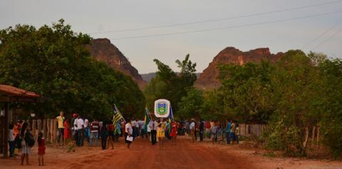 Escolas municipais José Damião e Justina Freitas realizam tradicional desfile cívico na zona rural