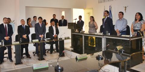 Justiça Eleitoral diploma eleitos de Corrente e Sebastião Barros