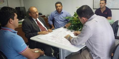 Deputado Fernando Monteiro e prefeito Onélio solicitam melhorias para PI 415