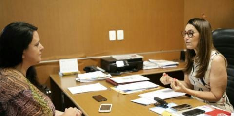 Governadora Margarete Coelho concede entrevista ao Portal Corrente