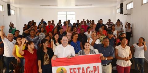 FETAG-PI promove encontro regional em Corrente