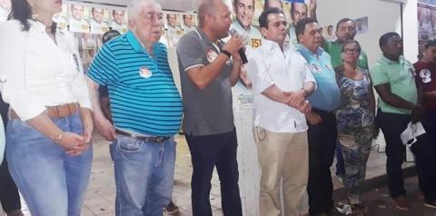 Prefeito Leo Matos declara apoio aos candidatos Henrique Pires e Paes Landin