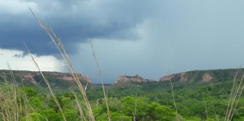 Outubro chegou ao fim como o mais chuvoso dos últimos 9 anos em Santa Filomena