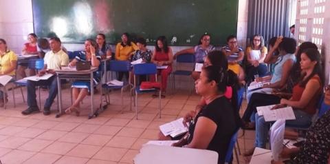Professores da rede municipal de ensino de São Gonçalo do Gurgueia participam da Formação Pedagógica 2019.2