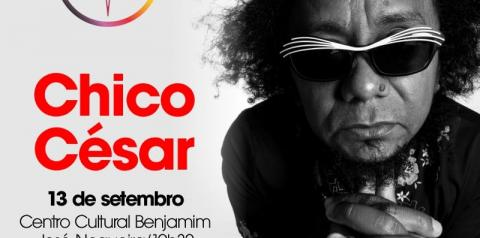 Atração nacional, Chico César se apresenta dia 13 na Casa da Cultura de Corrente