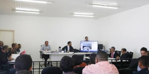 Policial é condenado a 9 anos de prisão no tribunal do juri em Parnaguá. Julgamento de Hidelbrando Pascoal é adiado para 2020.