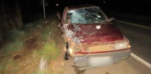 Homem perde a vida em acidente na BR-135 em Formosa do Rio Preto