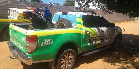 Preso por tráfico de drogas no sábado é novamente detido com droga em barreira policial nesta segunda-feira em Curimatá
