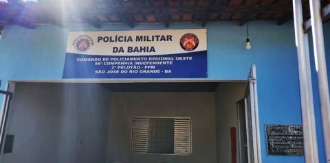 Polícia Militar inaugura posto em São José do Rio Grande, distrito de Riachão das Neves
