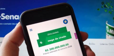 Mega da Virada: como jogar online pelo celular