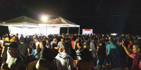 Bolão de vaquejada em Monte Alegre reúne verdadeira multidão