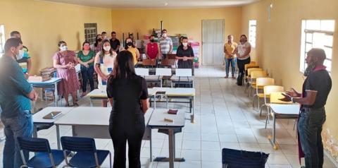 Prefeito Pablo Carvalho realiza a primeira reunião com os gestores escolares de Sebastião Barros
