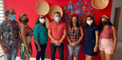 Secretário de Estado da Cultura do Piauí, Fábio Novo, entrega Casa da Cultura ao município de São Gonçalo do Gurgueia