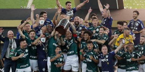 Palmeiras é bicampeão da Copa Libertadores