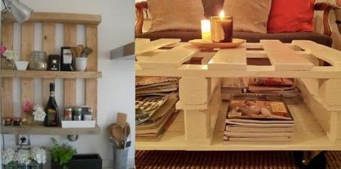 Como fazer móveis com paletes recicladas