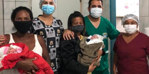 Prefeito de Cristalândia, que também é médico, realiza dois partos de emergência no final de semana