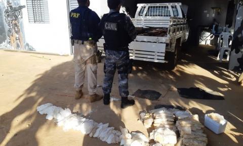 PRF e Polícia Militar apreendem drogas avaliadas em mais de Um Milhão de Reais em Picos