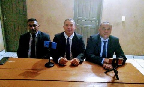 Vereadores do MDB de Gilbués cobram inícios das obras de abastecimento d'água com verba deixada pelo ex-prefeito Léo Matos