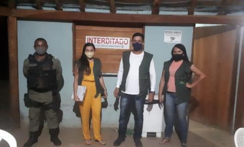 Vigilância Sanitária interdita estabelecimento em Sebastião Barros por descumprimento a decreto