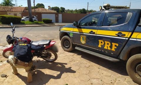 Motociclista acusado de receptação é preso pela PRF na BR 135 em Bom Jesus