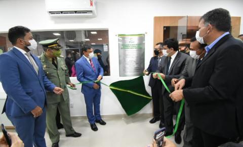 Governador inaugura Centro Integrado de Comando e Controle e celebra 186 anos da PM-PI