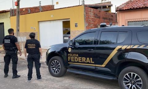Polícia Federal deflagra Operação Gênesis no Piauí e no Maranhão na manhã desta segunda-feira