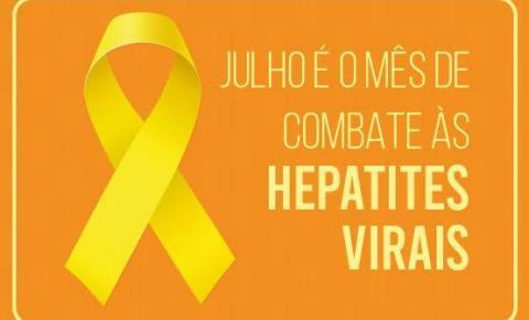 """""""Julho Amarelo"""": Sesapi orienta sobre as hepatites virais"""