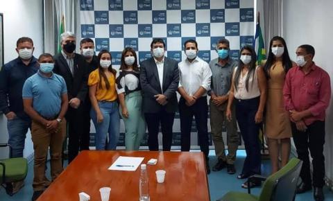 Prefeito Moisés e comitiva vão em busca de recursos para reforma do hospital, barragem do Guarujá e obras de mobilidade para Cristalândia