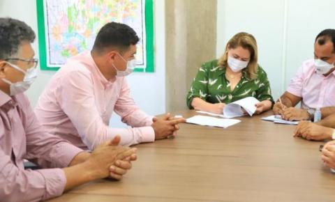 Estado e Prefeitura de Sebastião Barros firmam termo de cooperação que resolverá problema histórico de falta d'água