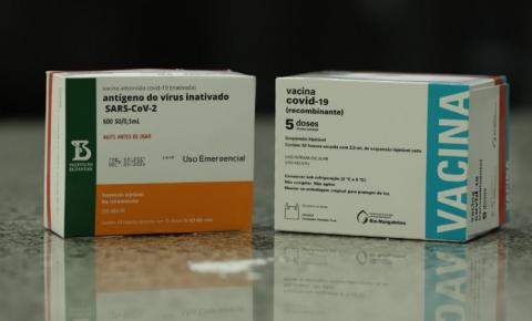 Piauí recebe mais de cem mil doses de vacinas contra a Covid-19
