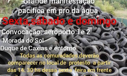 População do bairro Aeroporto marca manifestação para a tarde desta sexta-feira