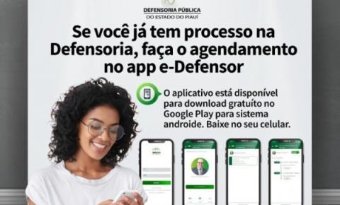 Aplicativo e-Defensor permite à população acompanhar processos na Defensoria