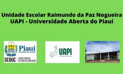UAPI/UESPI está com inscrições gratuitas para vestibular em Sebastião Barros