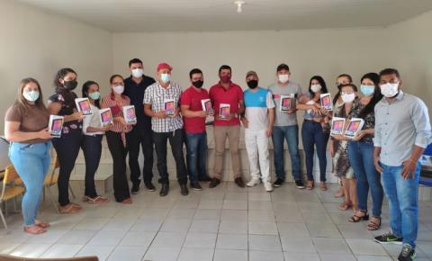 Agentes Comunitários de Saúde de Sebastião Barros são equipados com tablets