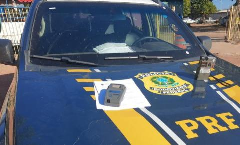 Condutor é preso pela PRF na BR-135 em Corrente acusado de embriaguez ao volante