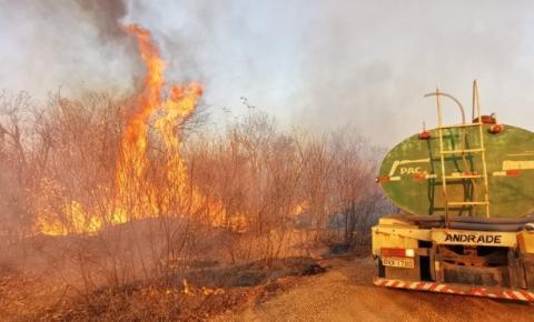 Ministério Público recomenda que prefeitura de São Raimundo Nonato crie brigada de combate a incêndios